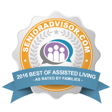 Aurora Place : 2016 Best of Senior Advisor Award Winner