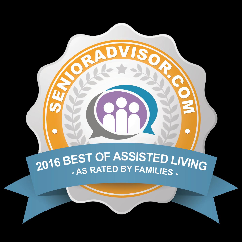 Oaks at Hampton 2016 Top-Rated Senior Care Provider