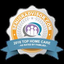 2016 Best of Home Care Award - Elite Senior Home Care